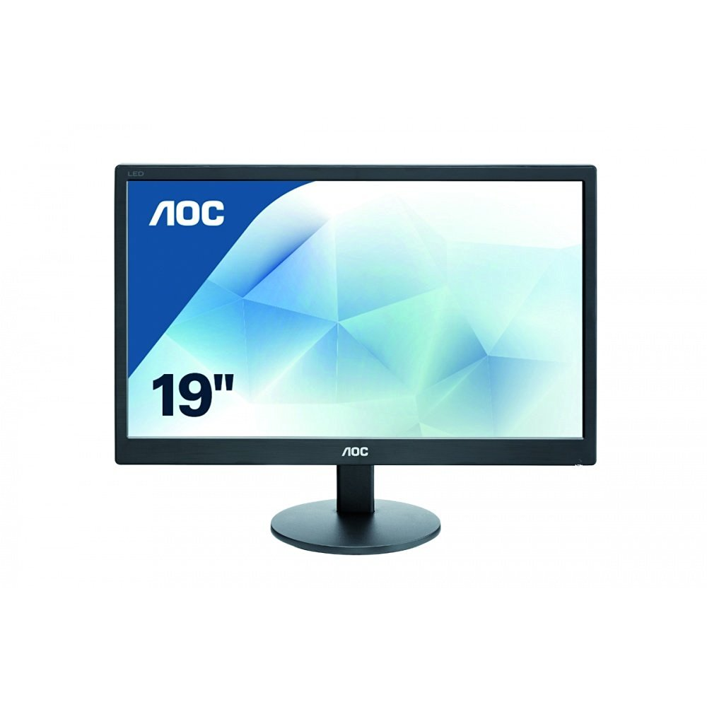 AOC  LED Monitor, black