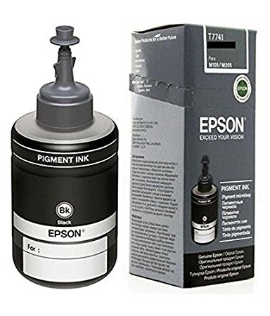 Epson Ink T7741 Black Ink Pack of 1 For M100/200