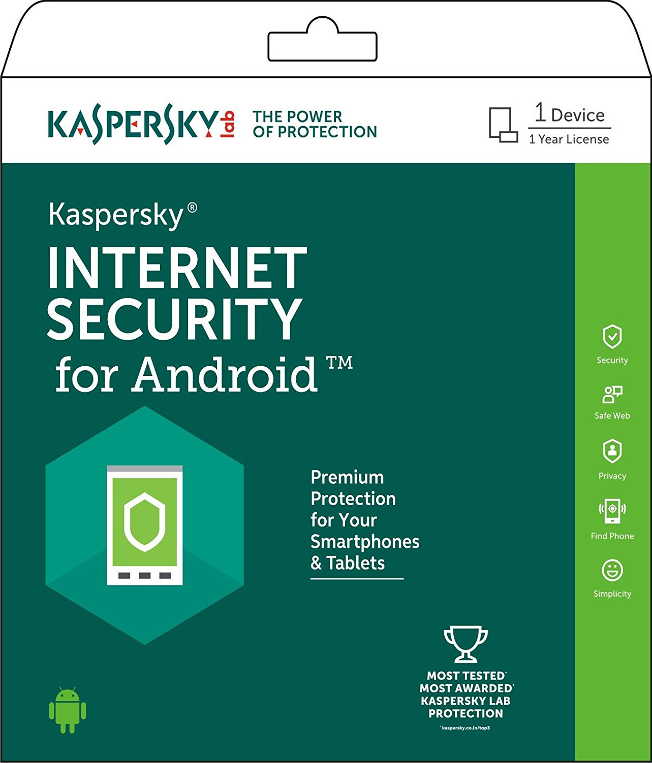 Kaspersky Internet Security for Android 2018