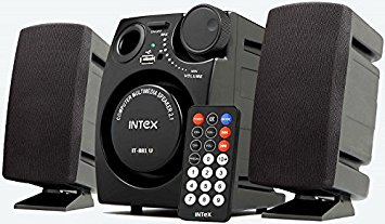 Intex IT-881U 2.1 Channel Multimedia Speakers (Black)