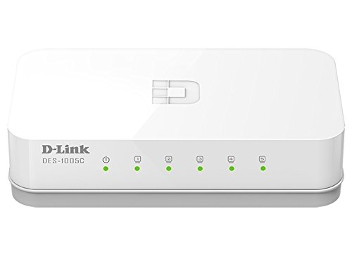 D-Link DES-1005C 10/100 Network Switch