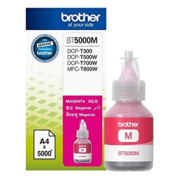 Brother BT5000M Genuine Ink Bottle Magenta colour