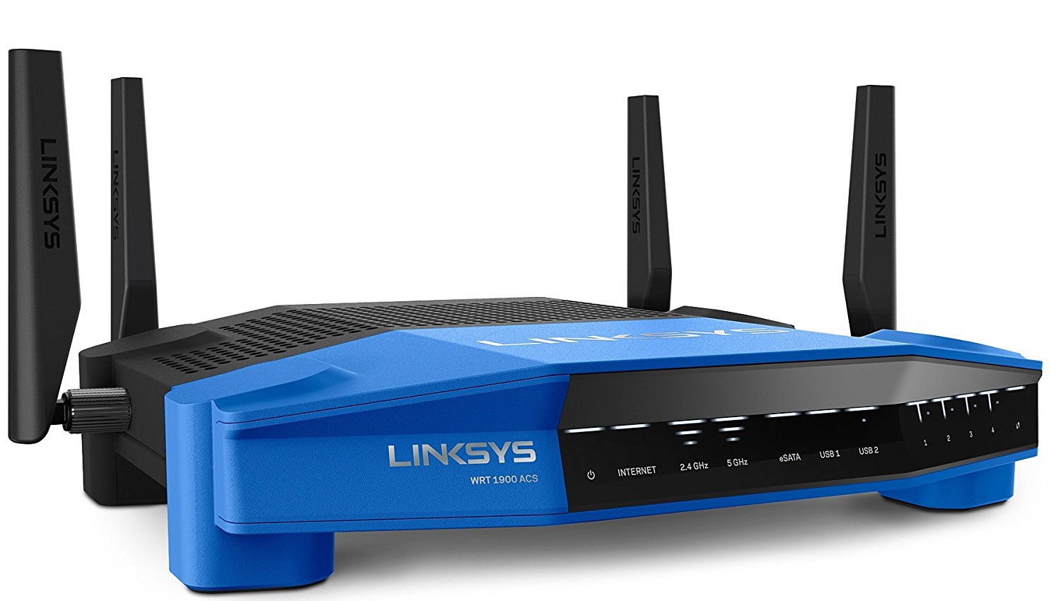 Linksys WRT1900ACS AC1900 Dual-Band Wireless Router (Black)