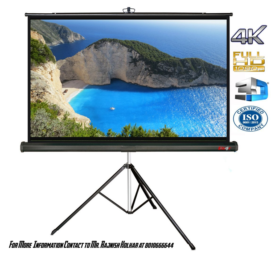 Elcor Tripod Type Projector Screen 6