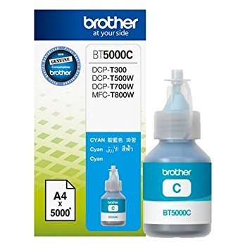 Brother BT5000C Genuine Ink Bottle Cyan colour