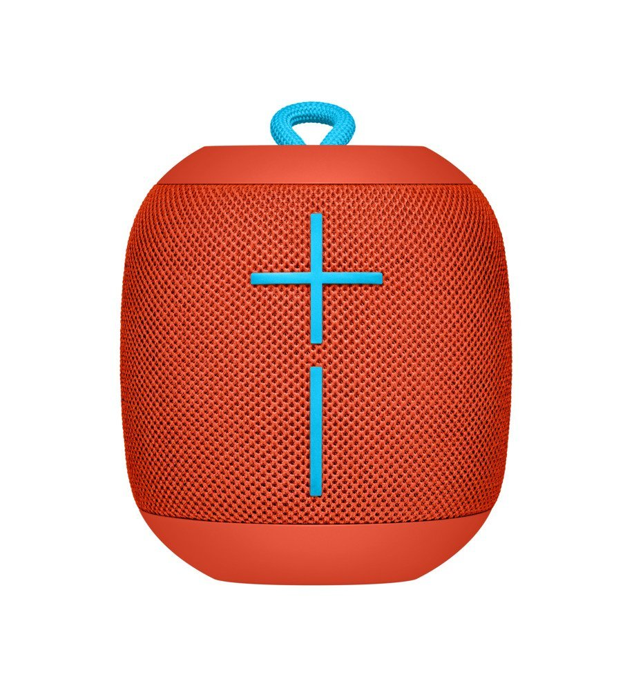 UE Wonderboom Portable Wireless Speakers (Fireball Red)