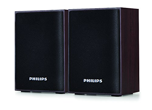 Philips SPA-30 2.0 Channel Multimedia Speakers System (Black