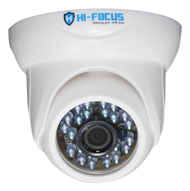 Hi-Focus 1 MP HD CCTV Camera (White)