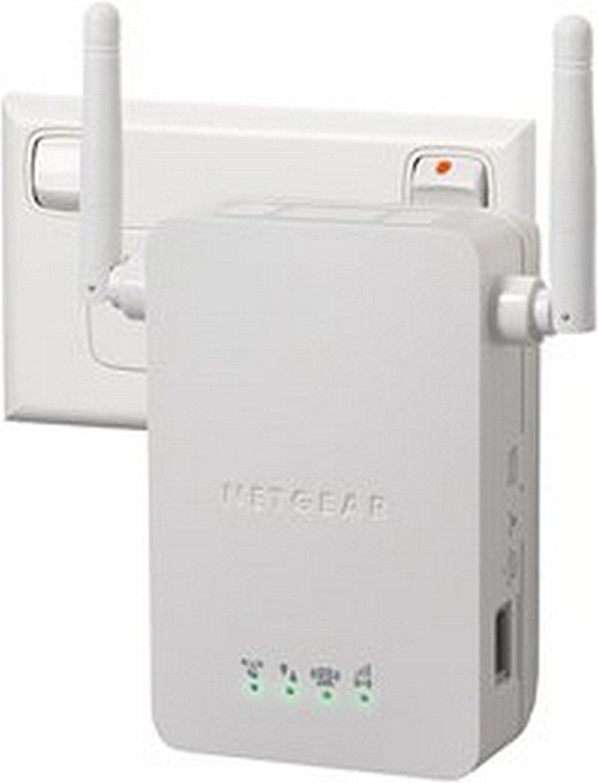 Netgear WN3000RP-200PES Universal Wi-Fi Range Extender (Cream White)