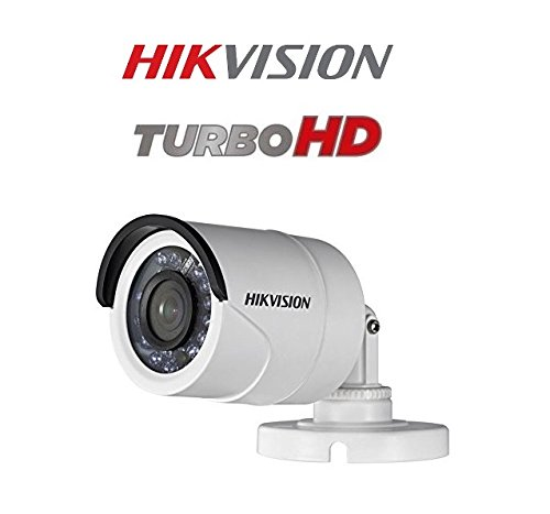 Hikvision New Upgraded DS-2CE1AD0T-IRPF 2MP (1080P) Plastic Body Bullet Camera Pack of 2Pcs.