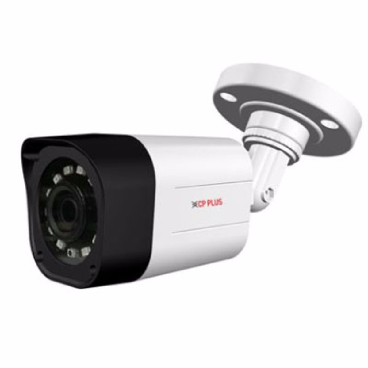 Cp Plus Cp-Vac-T24Pl2 2.4 Mp 20M Ir Bullet Camera (White)