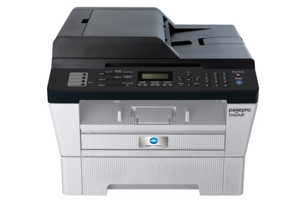 Konica Minolta Pagepro 1590MF Multifunction All in One Monochrome Printer