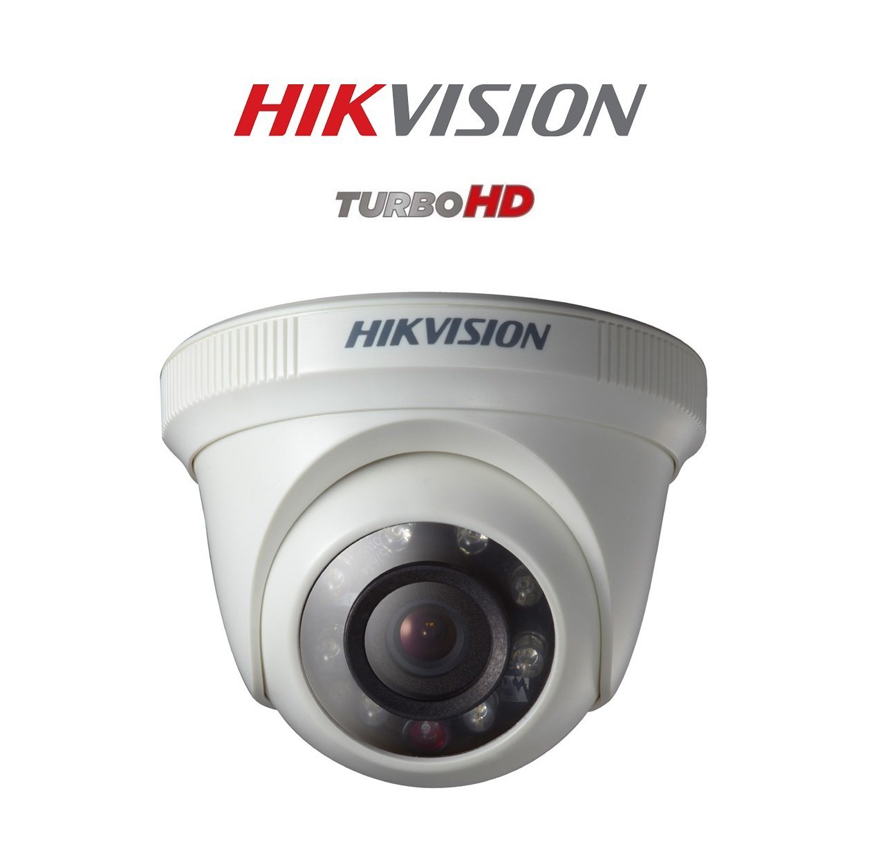 Hikvision New Upgraded DS-2CE5AC0T-IRPF 1MP (720P) Plastic Body Night Vision Dome Camera 1Pcs.
