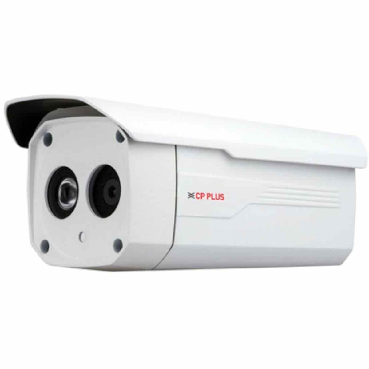 CP Plus CP-UNC-TA10L4S 1.3 MP 40M IR Bullet Camera (White)