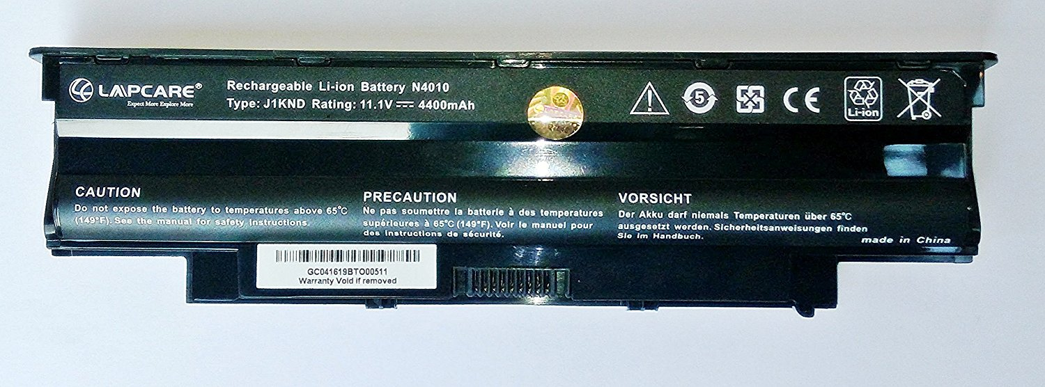 Lapcare Laptop Battery For Dell Inspiron N5010, N5110, N5050, N4010,N4110 6 Cell
