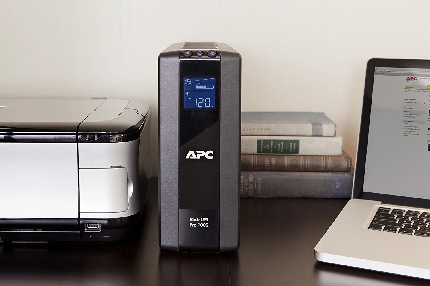 APC UPS Model: BR1000G-IN 1 KVA Battery Backup