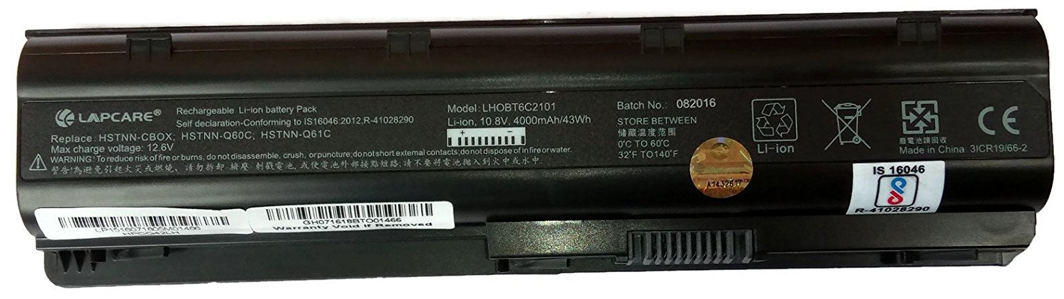 Lapcare Laptop Battery