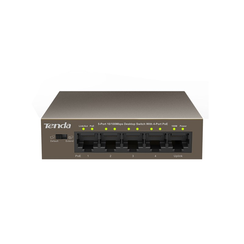 TEF1105P    /    Switch    /    5-port 10/100Mbps unmanaged switch