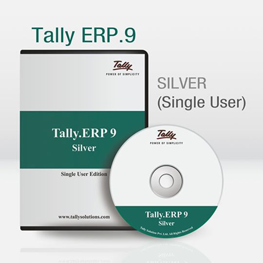 Tally.ERP 9 Silver (Single User)