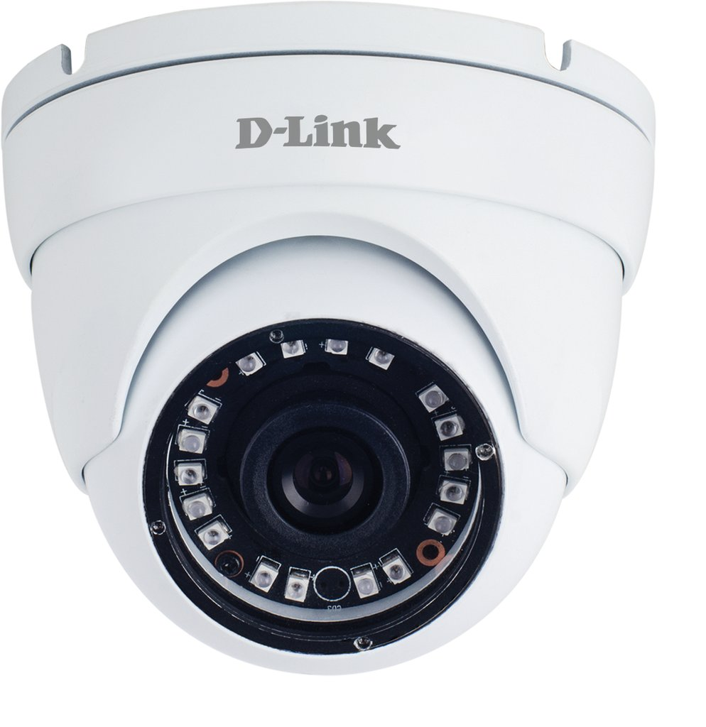 D-Link DCS-F4612 2MP Full HD Day & Night Outdoor Fixed Dome Network Camera