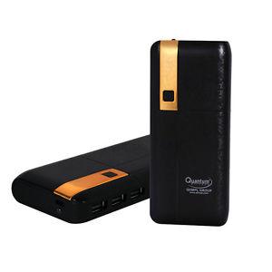 Quantum HI Tech QHM-11000 11000mAh Power Bank (Black)