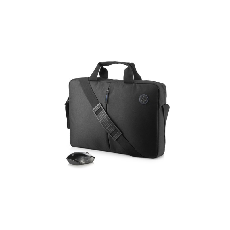 HP 15.6 Classic Briefcase and Mouse