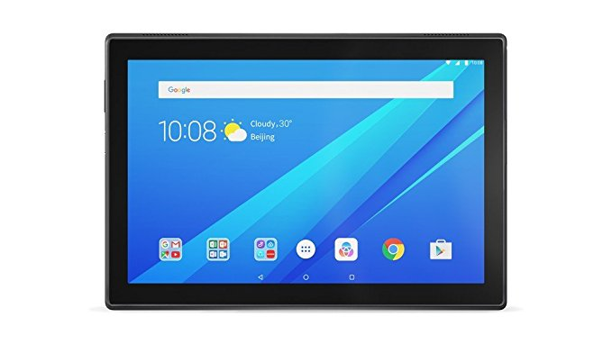 Lenovo Tab4 10 Plus Tablet (10.1 inch, 64GB, Wi-Fi + 4G LTE), Black