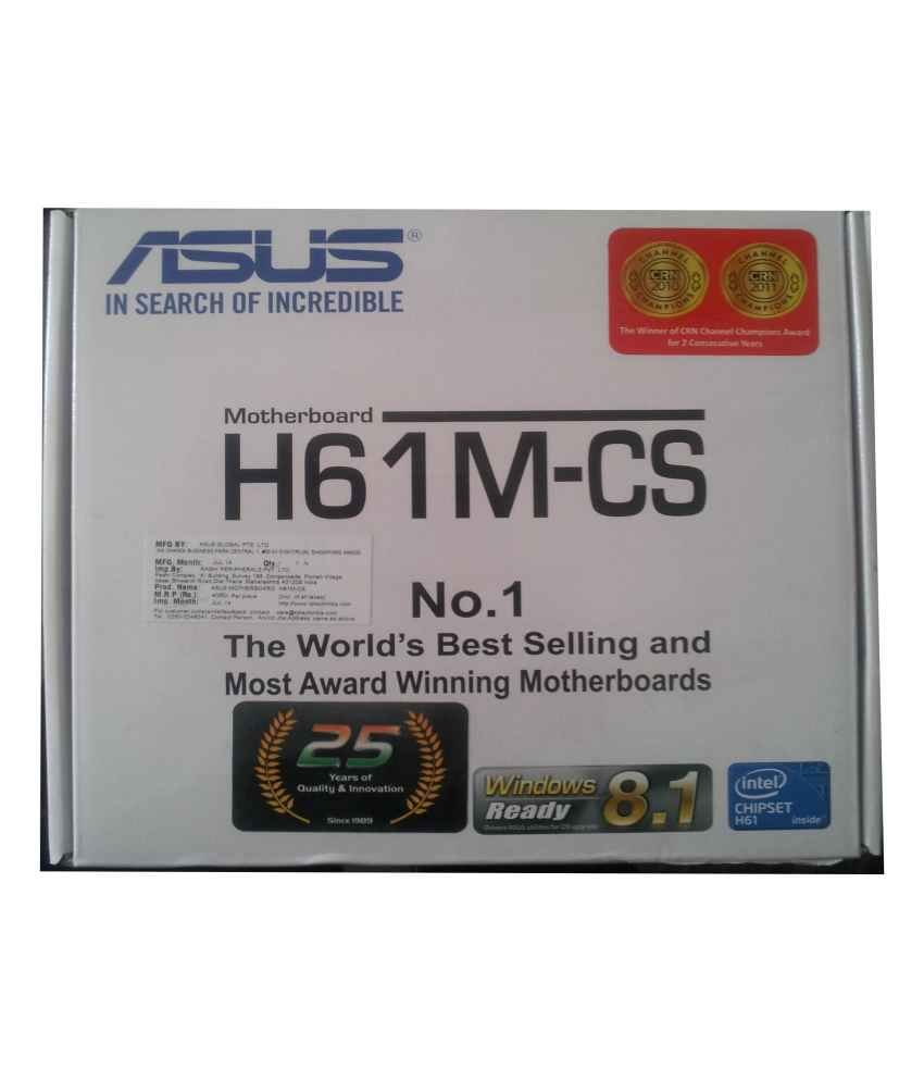 Asus Intel H61M-CS Motherboard