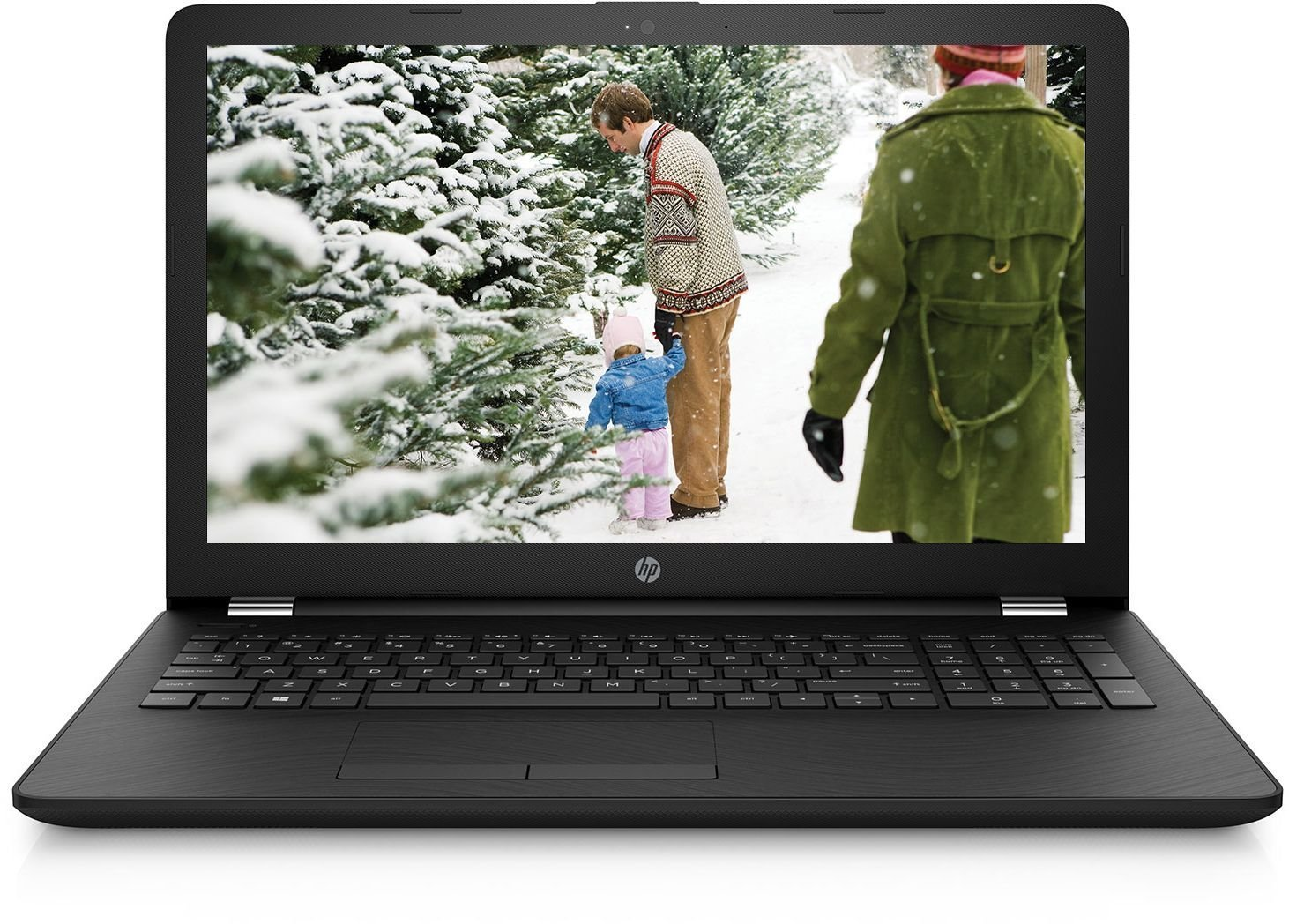 HP 15 15-BS544TU 2017 15.6-inch Laptop (6th Gen Core i3-6006U/8GB/1TB/DOS/Integrated Graphics), Sparkling Black