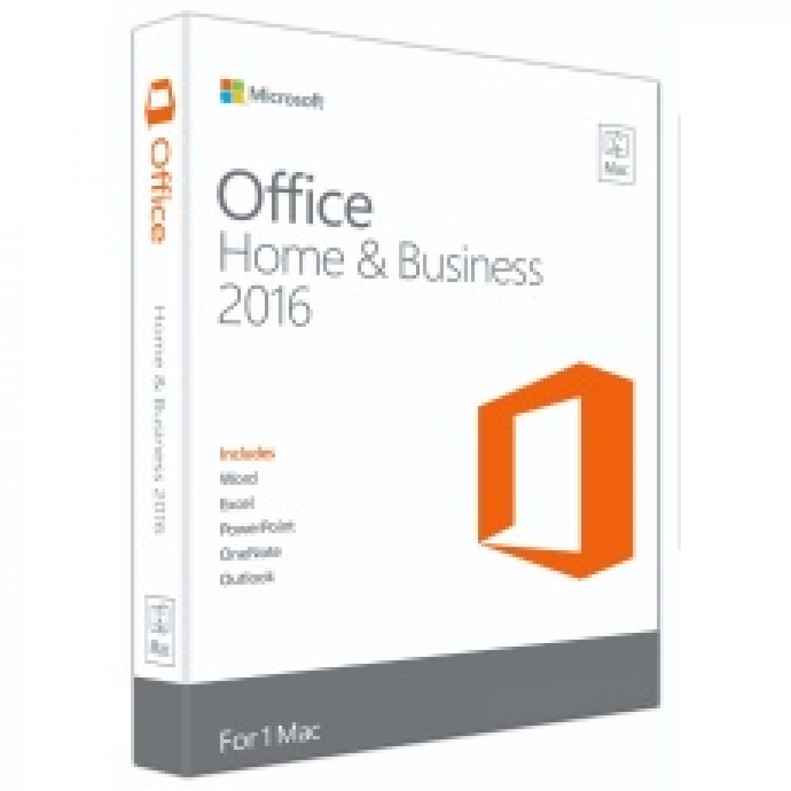 Microsoft Office Home and Business 2016  (32Bit/64Bit)  1 PC / User