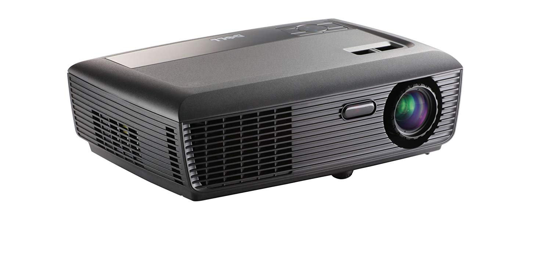 Dell 1210S DLP Projector 858 x 600 - SVGA - 2200:1 - 2500 lm - USB