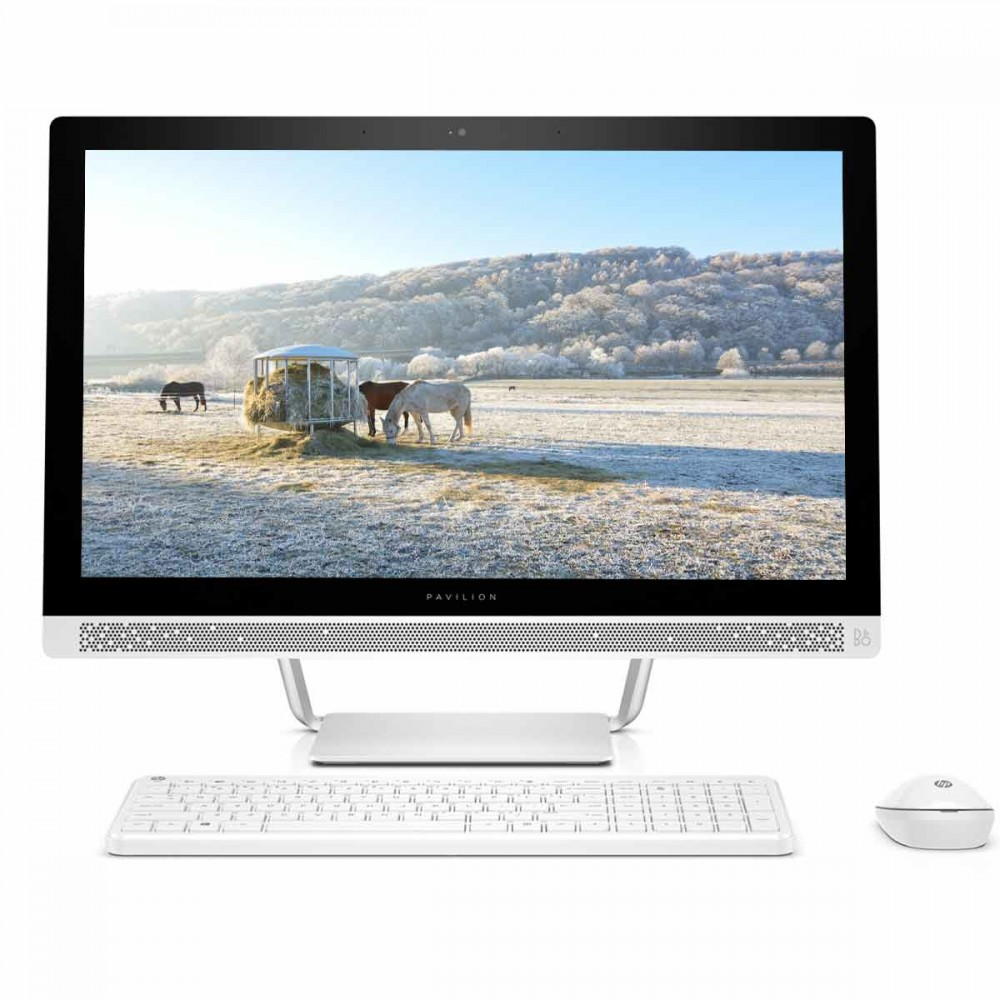 HP Pavilion AIO 24–q252in 23.8-inch All-in-One Desktop (7th Gen i5-7400T/8GB/1TB/Windows 10 Home/2GB Graphics)