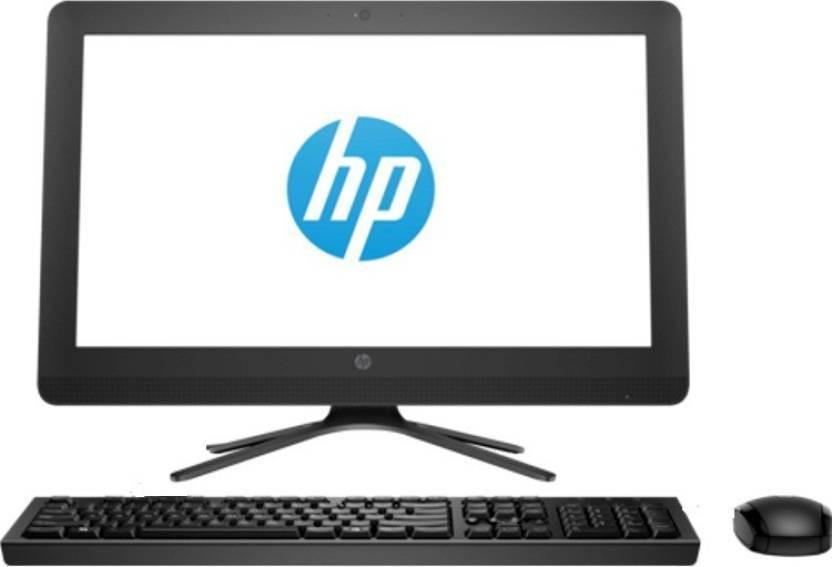 HP HP 22-b251in 21.45-inch All-in-One Desktop (7th Gen Core i5 i3-7200/4GB/1TB/Windows 10/Integrated Graphics), Black