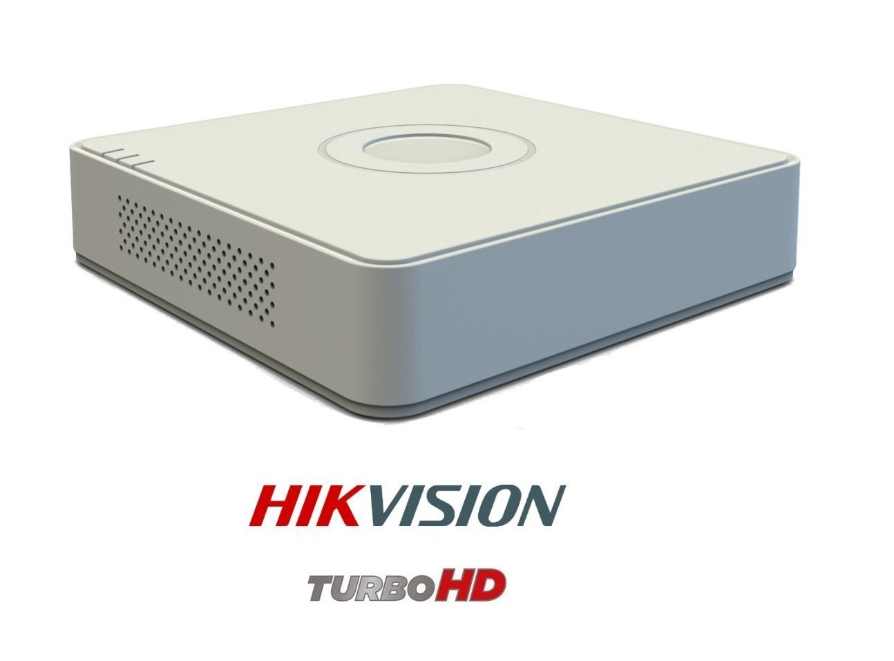 Hikvision DS-7A08HGHI-F1 720P (1MP) 8CH Turbo HD Mini DVR 1Pcs + Hikvision DS-2CE1ACOT-IRPF Bullet Camera 7Pcs Combo Kit.