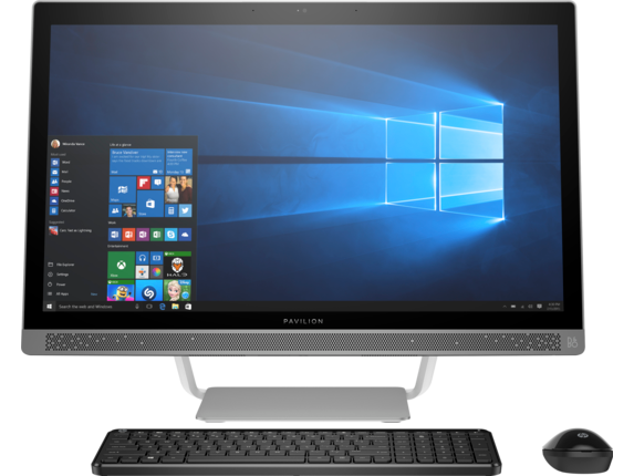 HP Pavilion 24-Q276in 2017 23.8-inch All-in-One Desktop (Intel Core i7-7700T/16GB/2TB/Windows 10 Home/NVIDIA GeForce 930MX Graphics)
