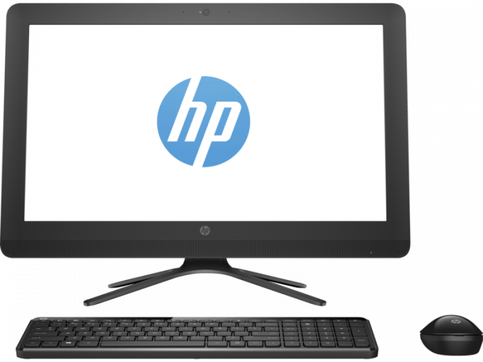 HP 20-c207in 19.5-inch All-in-One Desktop (Celeron J3060/4GB/1TB/Windows 10/Integrated Graphics), Black