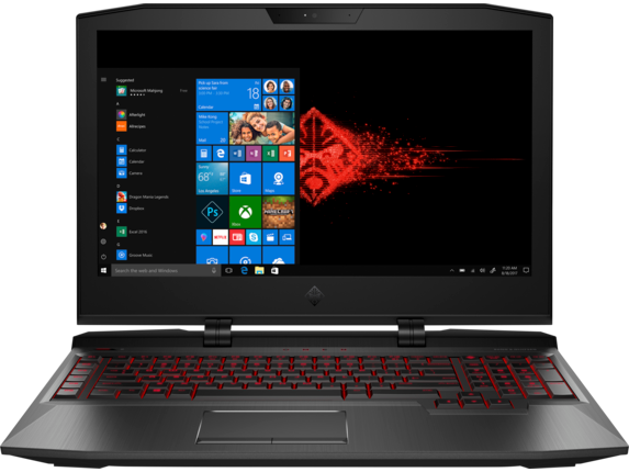 HP OMEN X-ap046TX 17-inch Laptop (Intel Core i7-7820HK/32GB/1TB HDD/512GB SSD/8 GB NVIDIA GTX 1080/VR Ready/Miracast/Windows 10), Shadow Black
