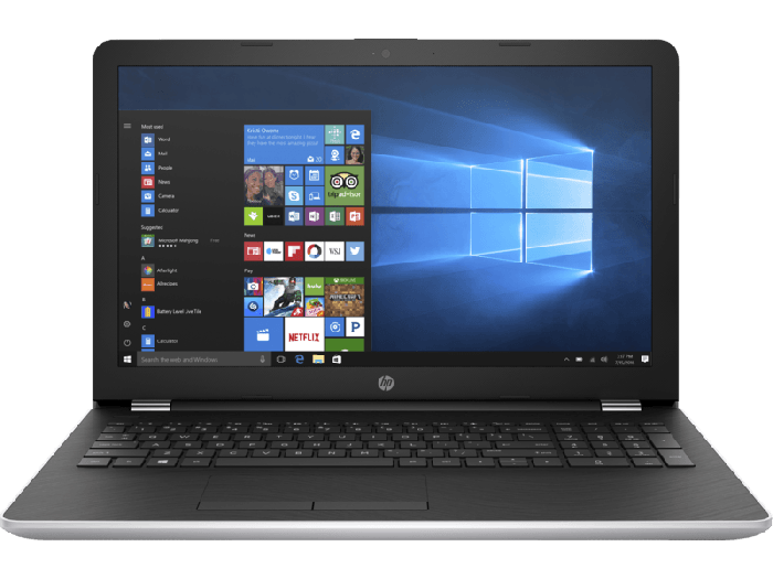 HP 15q-br108tx 15.6 inch FHD Laptop (Core Intel i7-8550U/8GB/1TB/Windows 10/4GB AMD Graphics), Natural Silver