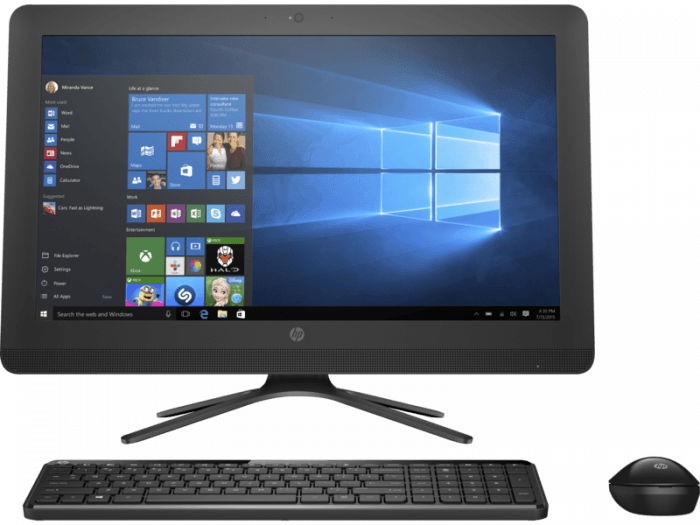 "HP 22-B252IL 21.5"" i5 Processor 1TB 2GB Graphics All-in-One Desktop"