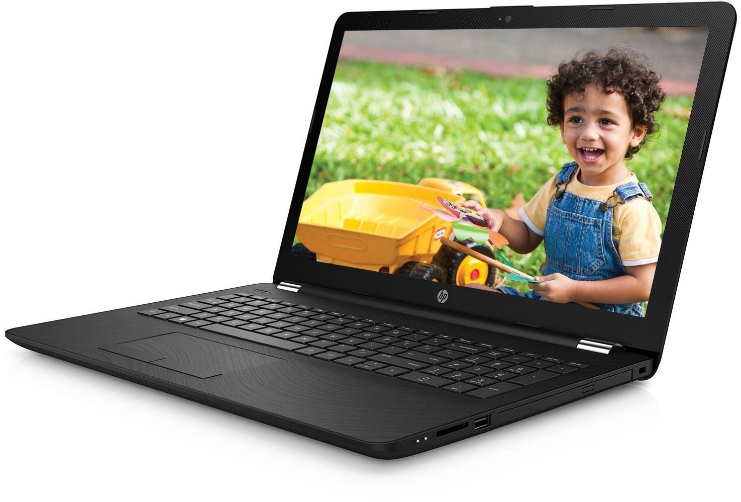 HP Notebook 15- bs146tu Intel (CoreTM i5-8250U 8th Gen, 1.6GHz /4GB DDR4 /1TB HDD / 39.62 cm(15.6) diagonal FHD SVA/ Windows 10 Home ) Black