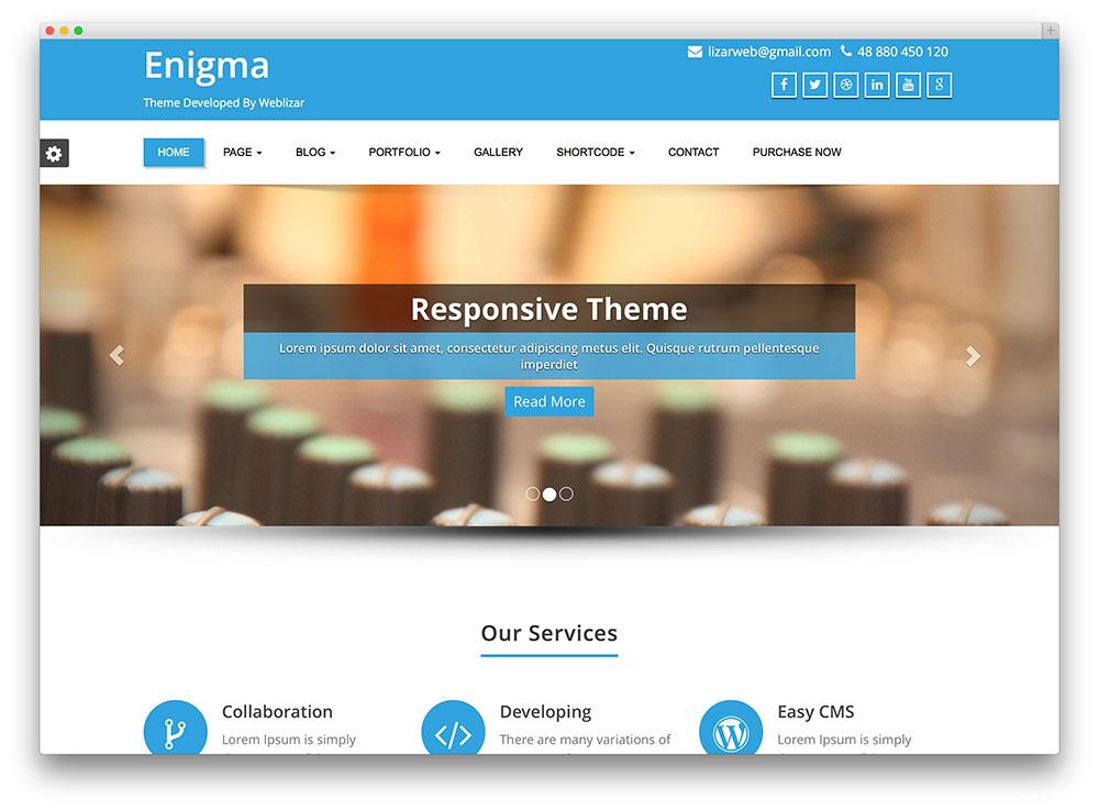 Static Website Design & Development