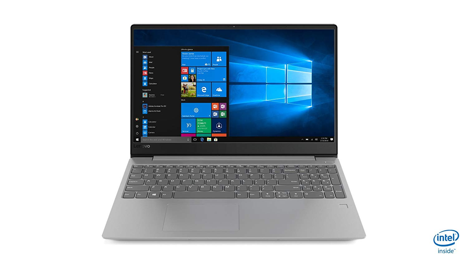 Lenovo Ideapad 330S-15IKB 81F500BXIN 15.6-inch Full HD Laptop (8th Gen I5-8250U/8GB DDR4/1TB HDD/Windows 10 Home/Office Home & Student 2016/4GB AMD Graphics), Platinum Grey