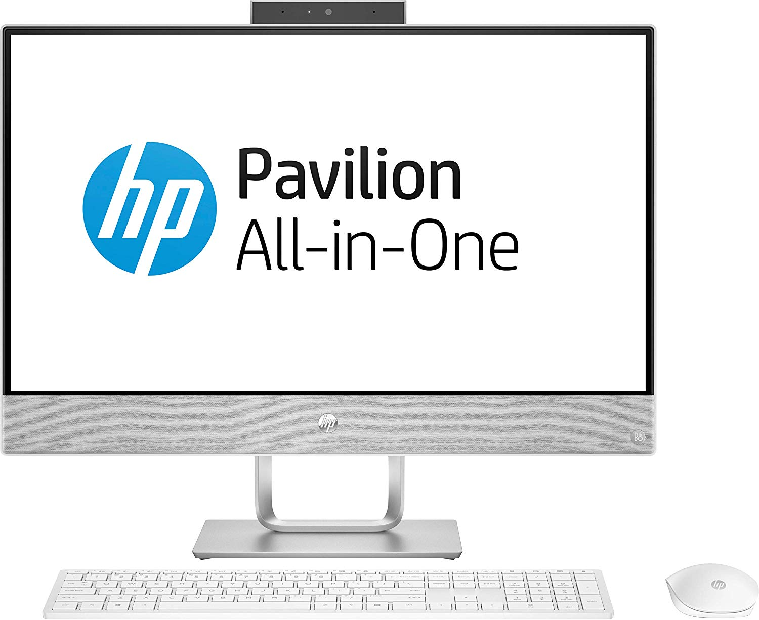 HP PAVILION 24-QA156IN CORE I5 8TH GEN WINDOWS 10 DESKTOP (4 GB + 16 GB OPTANE, 1 TB HDD, 60.96 CM, BLIZZARD WHITE)