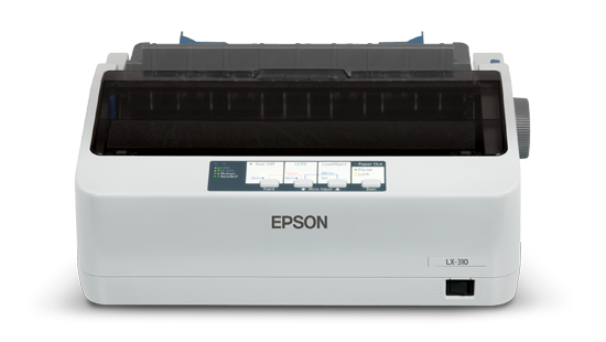 Epson LX-310+Il, 9 Pin ,   80 Col ,  300 CPS  ,    1+4 copies  ,  64KB