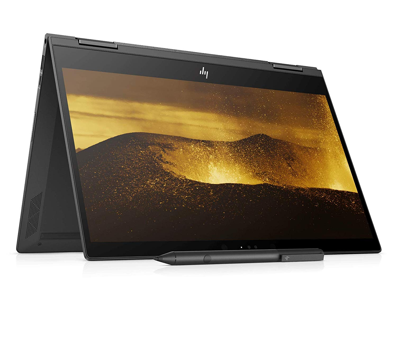 HP Envy 13-AG0034AU 2018 13.3-inch Laptop (Ryzen 3 2300U/4GB/128GB SSD/Windows 10 Home, 64 Bit/Integrated Graphics), Dark Ash Silver