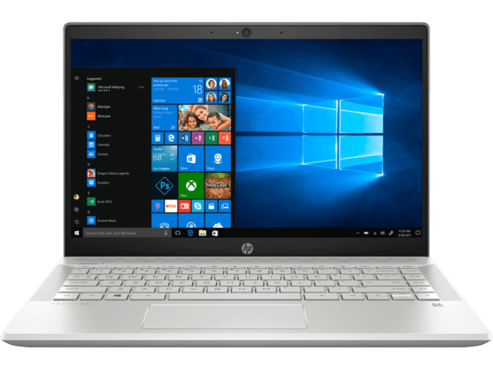 """HP Pavilion 14-CE1003TX Laptop (8th Gen Core i7 8565U, 16GB RAM, 512GB SSD, 2GB Nvidia MX150, 14"""" Full HD, Windows 10, Office H & S 2016) Mineral silver"""