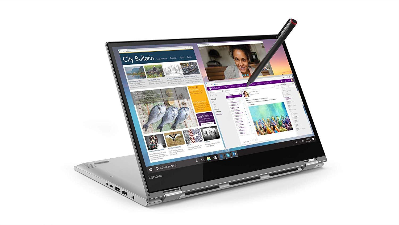 Lenovo Yoga 530 Intel Core I7 8th Gen 14 - inch Touchscreen 2-in-1 FHD Laptop (8GB/ 256GB SSD/ Windows 10 Home/ 2GB Graphics/ Mineral Grey), 81EK00KEIN