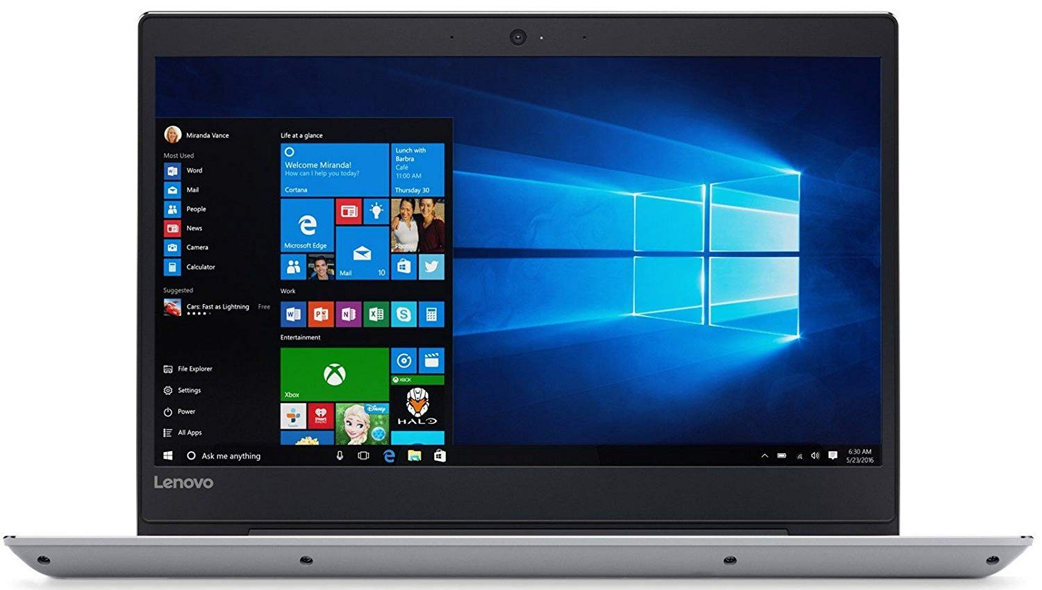 "Lenovo Ideapad 130-15IKB 81H7005BIN / Intel Core i3-6006U 2.0 GHz / 4GB / 1TB / DVDRW / 15.6"" FHD TN / Windows 10 Home SL / Black Color"