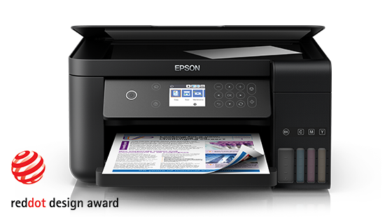 Epson L61905760*1440 / 600*1200(SCAN),PRINT,SCAN,COPY,WiFi ,Network , Duplex , FAX , ADF