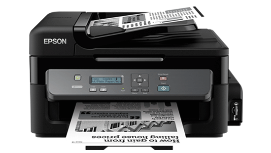 Epson M200	1440*720dpi,  PRINT. SCAN, COPY ,ADF ,NETWORK, 34ppm , 140 ml ink black bottle